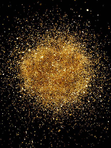 Golden Glitter Explosion:スマホ壁紙(壁紙.com)