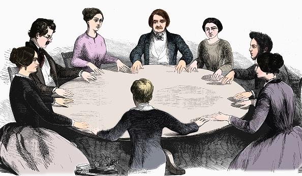 19th Century「Spiritualist Meeting In Leipzig」:写真・画像(13)[壁紙.com]