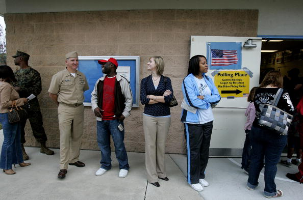 Sandy Huffaker「Americans Go To The Polls To Elect The Next U.S. President」:写真・画像(11)[壁紙.com]