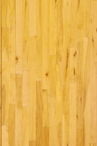 バスケットボール「バスケットボールの写真、木製床オーバヘッド、垂直」:スマホ壁紙(18)
