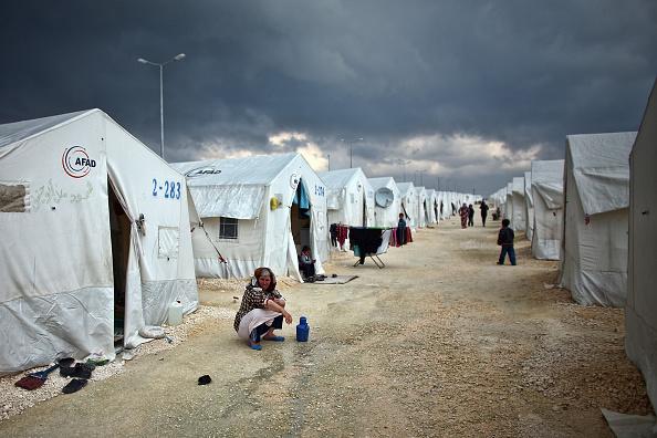 Şanlıurfa「Syrian Refugees Seek Shelter In Turkish Camps」:写真・画像(13)[壁紙.com]