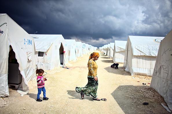 Şanlıurfa「Syrian Refugees Seek Shelter In Turkish Camps」:写真・画像(12)[壁紙.com]