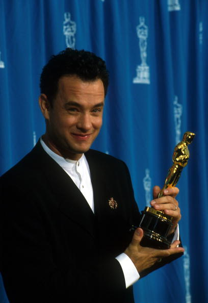 Academy Awards「Tom Hanks at 1995 Oscars」:写真・画像(8)[壁紙.com]