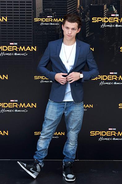 俳優「'Spider-Man: Homecoming' Madrid Photocall」:写真・画像(14)[壁紙.com]