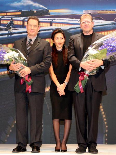 """Junko Kimura「Tom Hanks Promotes """"The Polar Express"""" In Tokyo」:写真・画像(6)[壁紙.com]"""