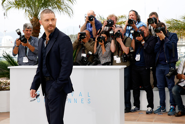 """Tom Hardy - Actor「""""Mad Max: Fury Road"""" Photocall - The 68th Annual Cannes Film Festival」:写真・画像(4)[壁紙.com]"""