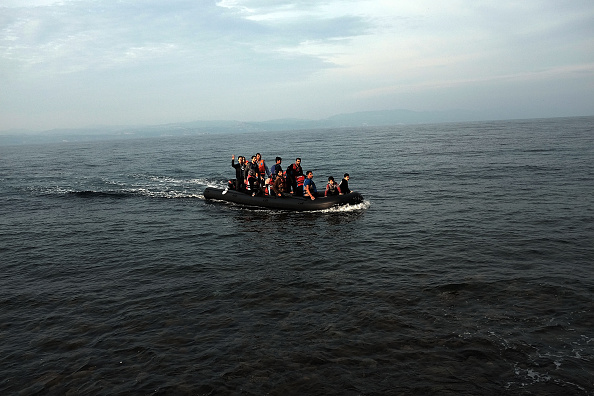 Nautical Vessel「Greek Island Of Lesbos Continues To Recieve Migrants Fleeing Their Countries」:写真・画像(15)[壁紙.com]