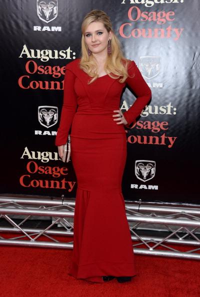 アビゲイル ブレスリン「Premiere Of AUGUST:OSAGE COUNTY Presented By The Weinstein Company With Ram Trucks - Arrivals」:写真・画像(5)[壁紙.com]