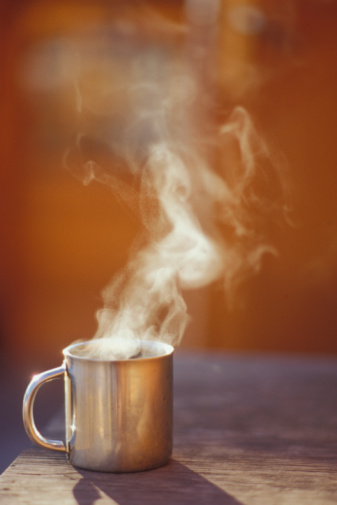 Coffee - Drink「Mug of Steaming Hot Coffee」:スマホ壁紙(6)