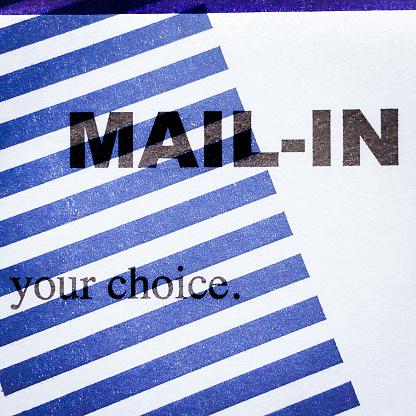 Voting Ballot「Mail-in ballot」:スマホ壁紙(13)