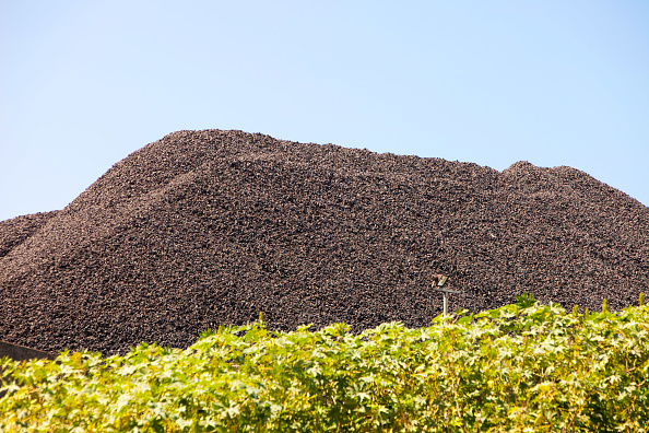 Greenhouse Gas「Coal reserves at the Bluescope steel works at Port Kembla in Wollongong, New South Wales, Australia.」:写真・画像(17)[壁紙.com]