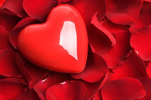 バレンタイン「レッドホットの愛」:スマホ壁紙(15)
