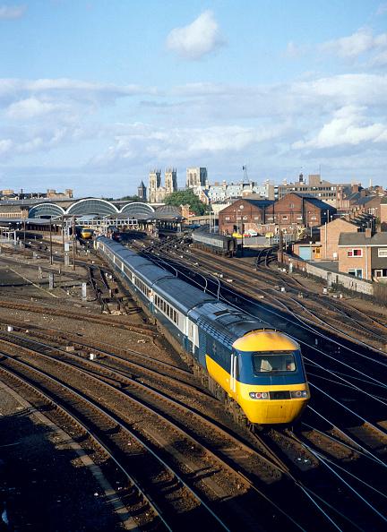 York - Yorkshire「York Station. The 16:37 ex London arrives at York en route for Middlesborough. 22.08.1982.」:写真・画像(7)[壁紙.com]