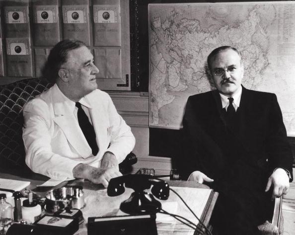 Franklin Roosevelt「Molotov And Roosevelt」:写真・画像(4)[壁紙.com]