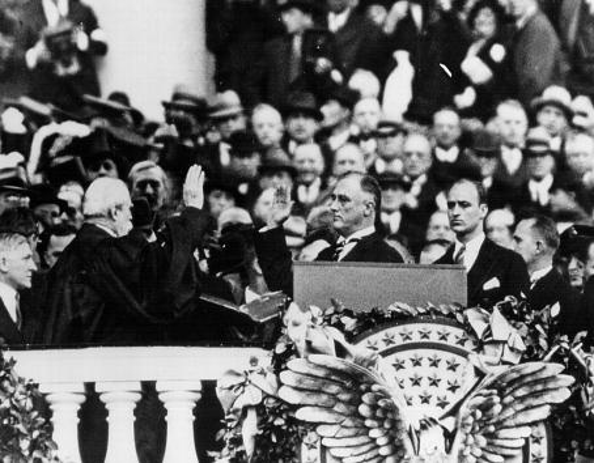 Franklin Roosevelt「Inauguration of Franklin D. Roosevelt」:写真・画像(7)[壁紙.com]