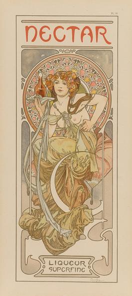 アールヌーボー「Nectar Liqueur」:写真・画像(18)[壁紙.com]