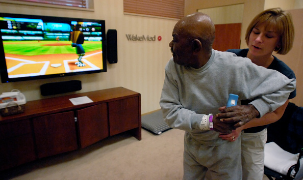 Leisure Activity「Medical Center Uses The Wii Gaming System For Physical Therapy」:写真・画像(15)[壁紙.com]