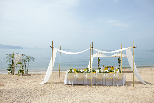 結婚「Beach party or wedding」:スマホ壁紙(8)