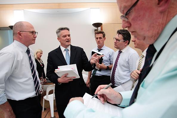 Finance and Economy「Australian Federal Budget Delivered In Canberra」:写真・画像(3)[壁紙.com]