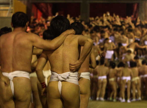 Japan「Saidaiji Temple Naked Festival Takes Place」:写真・画像(1)[壁紙.com]