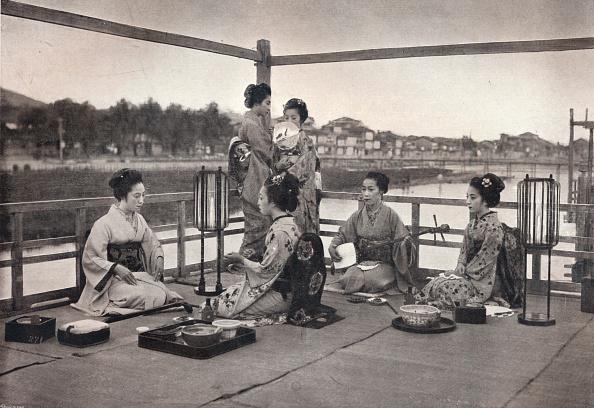 日本食「'A Japanese Meal', c1903」:写真・画像(7)[壁紙.com]