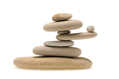 Uncertainty「Balancing Stones」:スマホ壁紙(3)