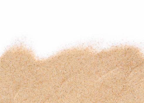 ビーチ「白い砂を背景に」:スマホ壁紙(2)