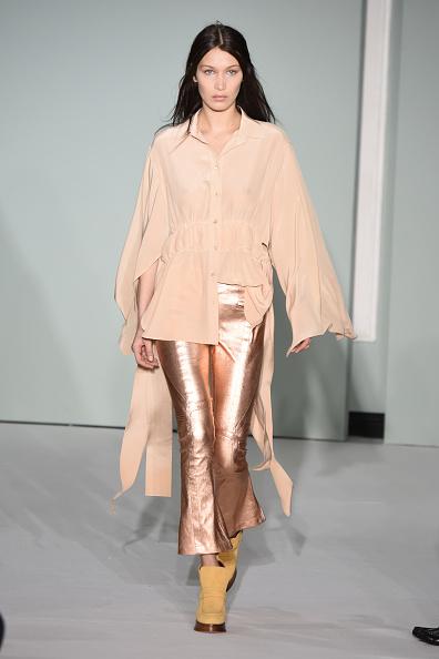 Metallic「Sies Marjan - Runway - February 2017 - New York Fashion Week」:写真・画像(6)[壁紙.com]