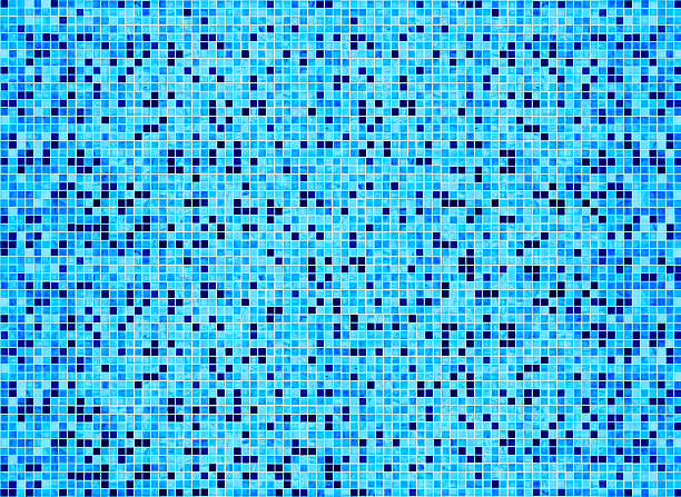 swimming pool floor bisazza mosaic large group of tiles:スマホ壁紙(壁紙.com)
