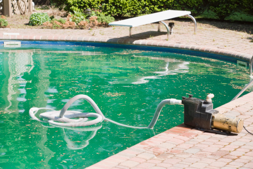 Industrial Hose「Swimming pool with cleaning device」:スマホ壁紙(19)