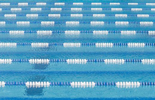 Swimming Lane Marker「Swimming pool and lane lines」:スマホ壁紙(12)