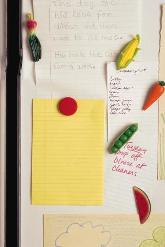 1990-1999「Notepaper on refrigerator」:スマホ壁紙(5)