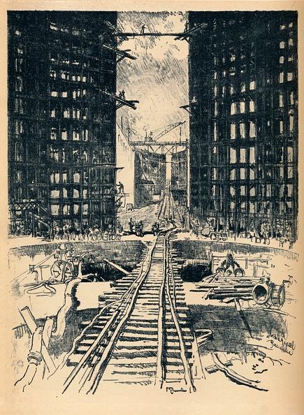 Construction Equipment「The Gates of Pedro Miguel Lock 1912」:写真・画像(8)[壁紙.com]