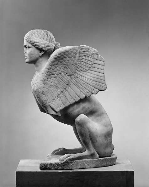 Mythology「Sphinx Roman Copy From A Greek Original」:写真・画像(13)[壁紙.com]