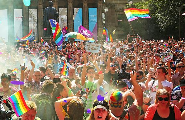 オーストラリア「Australians Gather To Hear Result Of Marriage Equality Survey」:写真・画像(14)[壁紙.com]