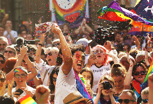 オーストラリア「Australians Gather To Hear Result Of Marriage Equality Survey」:写真・画像(9)[壁紙.com]