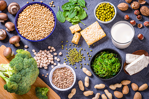 Protein「Various kinds of vegan protein sources」:スマホ壁紙(12)