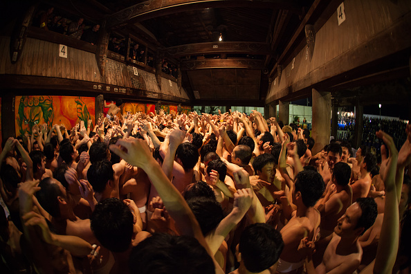Japan「Naked Festival Takes Place At Saidaiji Temple」:写真・画像(3)[壁紙.com]