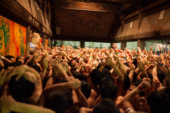 Japan「Naked Festival Takes Place At Saidaiji Temple」:写真・画像(17)[壁紙.com]