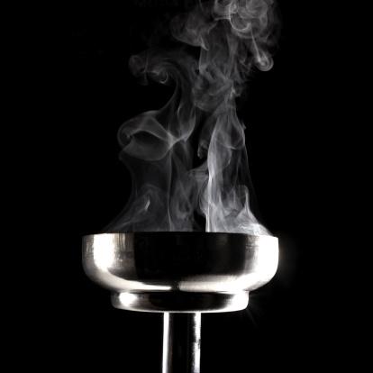 Greater Than Sign「smoking flaming torch」:スマホ壁紙(16)