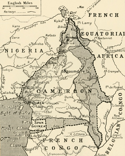 Colony - Territory「Map Showing The German Cameroon Colony」:写真・画像(7)[壁紙.com]