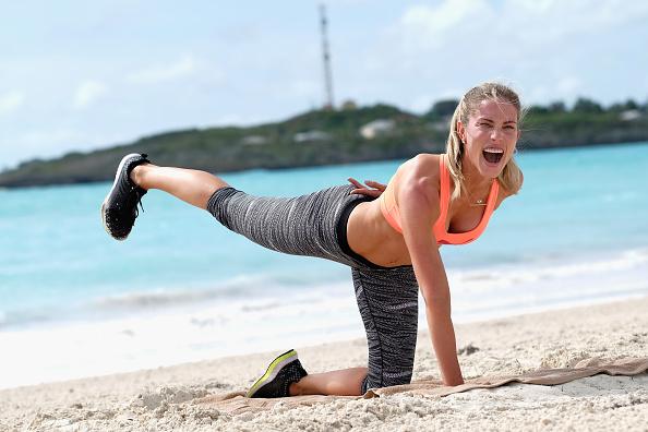 余暇「Sandals Emerald Bay Celebrity Golf Weekend - Day Two, Fitness Boot Camp Class With Astrid Swan」:写真・画像(9)[壁紙.com]
