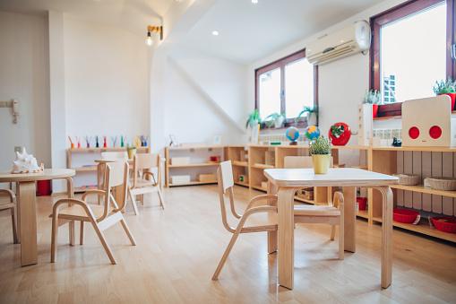 Preschool Building「Modern preschool classroom」:スマホ壁紙(19)