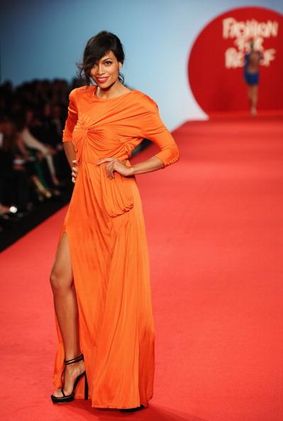 Orange Color「Fashion For Relief - Fashion Show」:写真・画像(15)[壁紙.com]