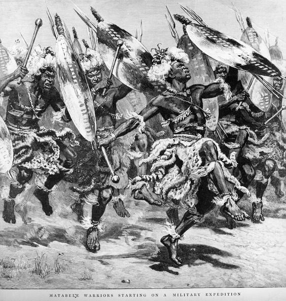 1890-1899「Matabele Warriors」:写真・画像(14)[壁紙.com]