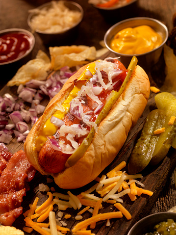 Hot Dog「Hot Dog with all the fixings」:スマホ壁紙(12)