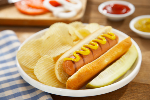 Relish「Hot Dog with mustard and potato chips」:スマホ壁紙(14)