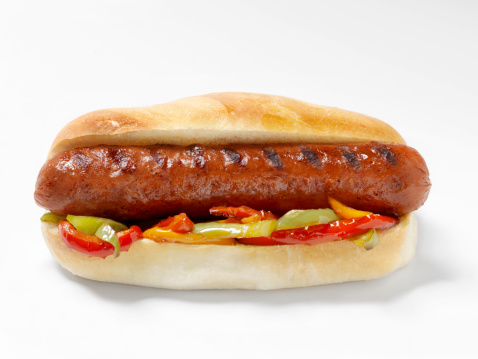 Bun - Bread「Hot Dog with Grilled Peppers」:スマホ壁紙(9)