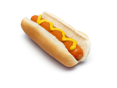 Hot Dog「Hot Dog with Mustard (path)」:スマホ壁紙(2)