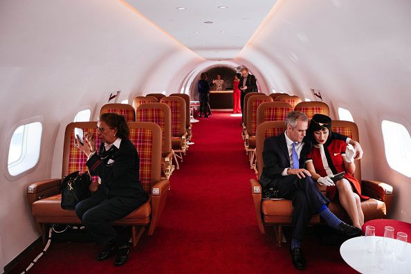 Kennedy Airport「TWA Hotel Opens In JFK Airport's Iconic TWA Flight Center Building」:写真・画像(11)[壁紙.com]